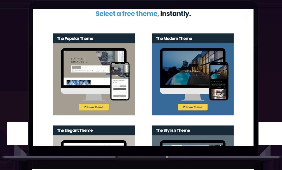 website theme 1