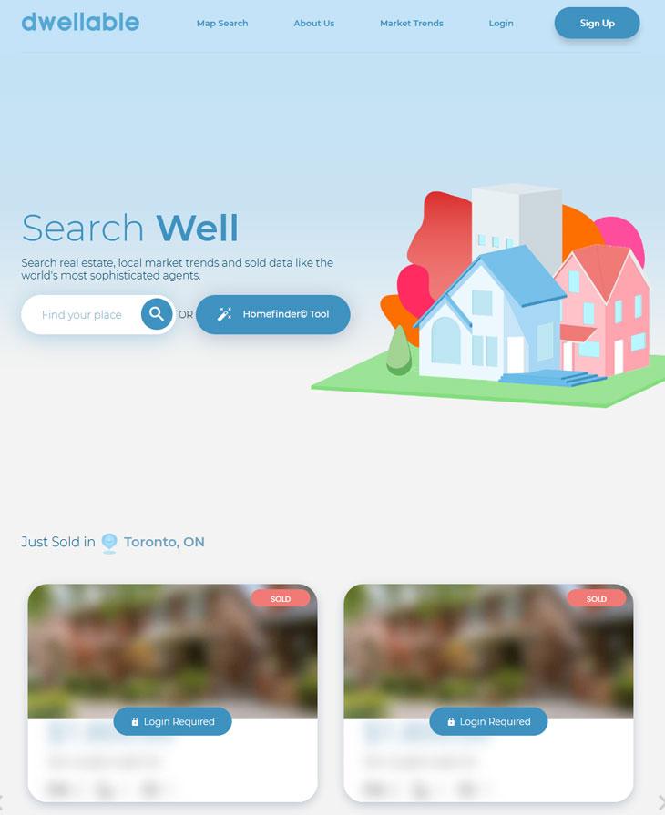 dwellable website