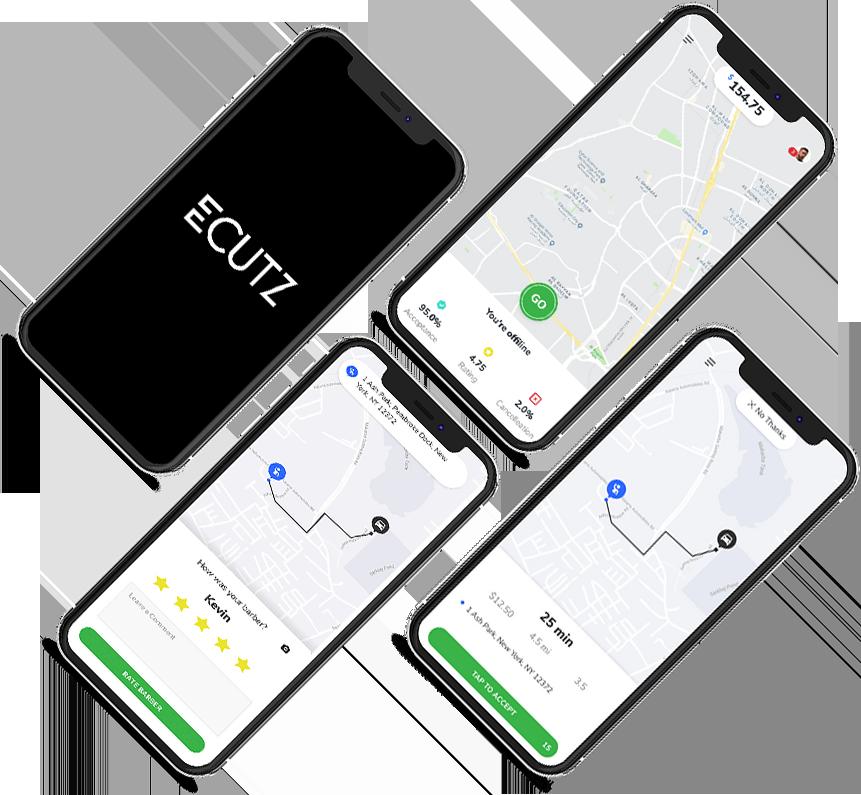ecutz app on phone