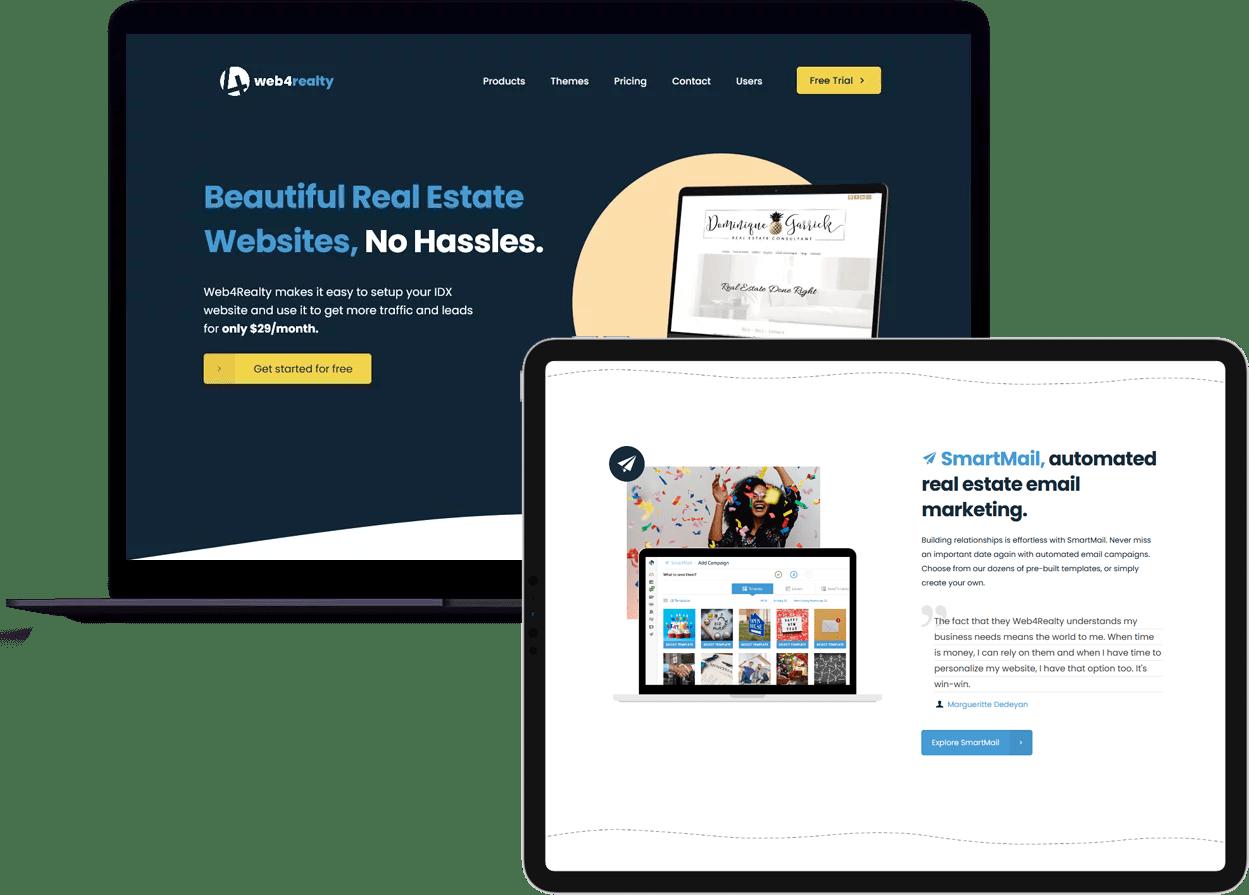 web4reality on desktop/mobile