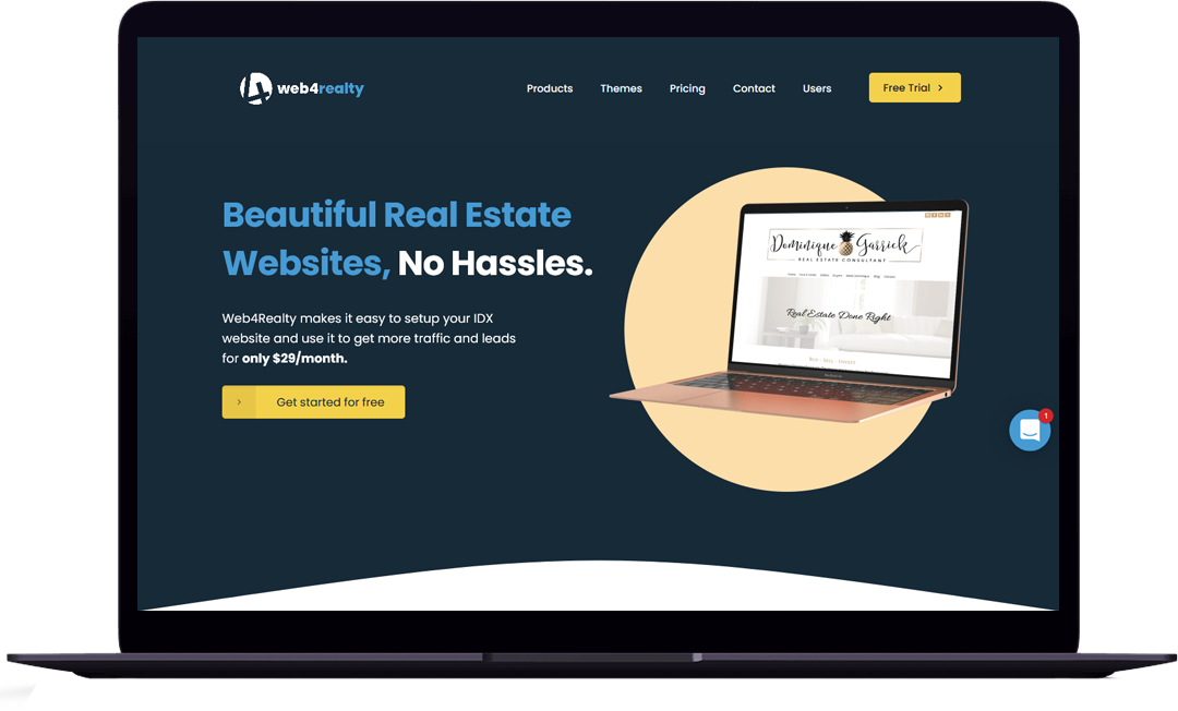 web4reality website portfolio